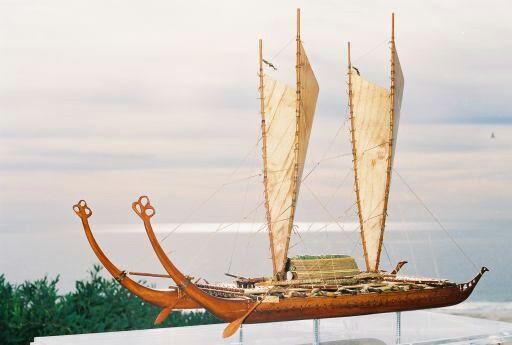 Polynesian Catamaran